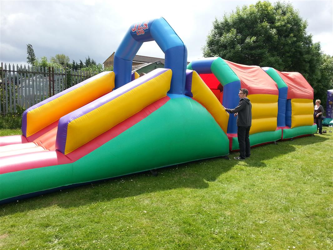 how to create an obstacle course for adults