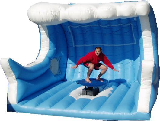 Big Stuff Bouncy Castles Party Hire Bucking Bronco
