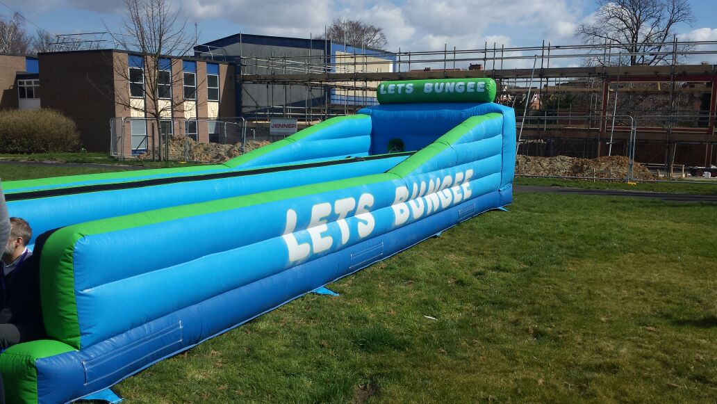 Bungee Run Hire London Inflatable Bungee Run Hire Essex